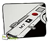 MySleeveDesign 17 Inch Notebook Sleeve Laptop Neoprene Soft Case Pouch Bag 17 / 17.3 Inch - SEVERAL DESIGNS & SIZES Available - Camera