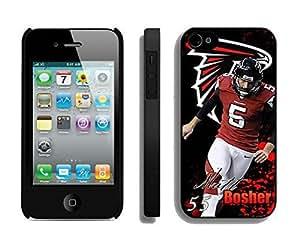 NFL&Atlanta Falcons Matt Bosher iphone 4 4S phone cases&Gift Holiday&Christmas Gifts PHNK625732