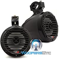 VMC65 Textured Black - Cerwin Vega 6.5 60W RMS Marine Tower Speaker
