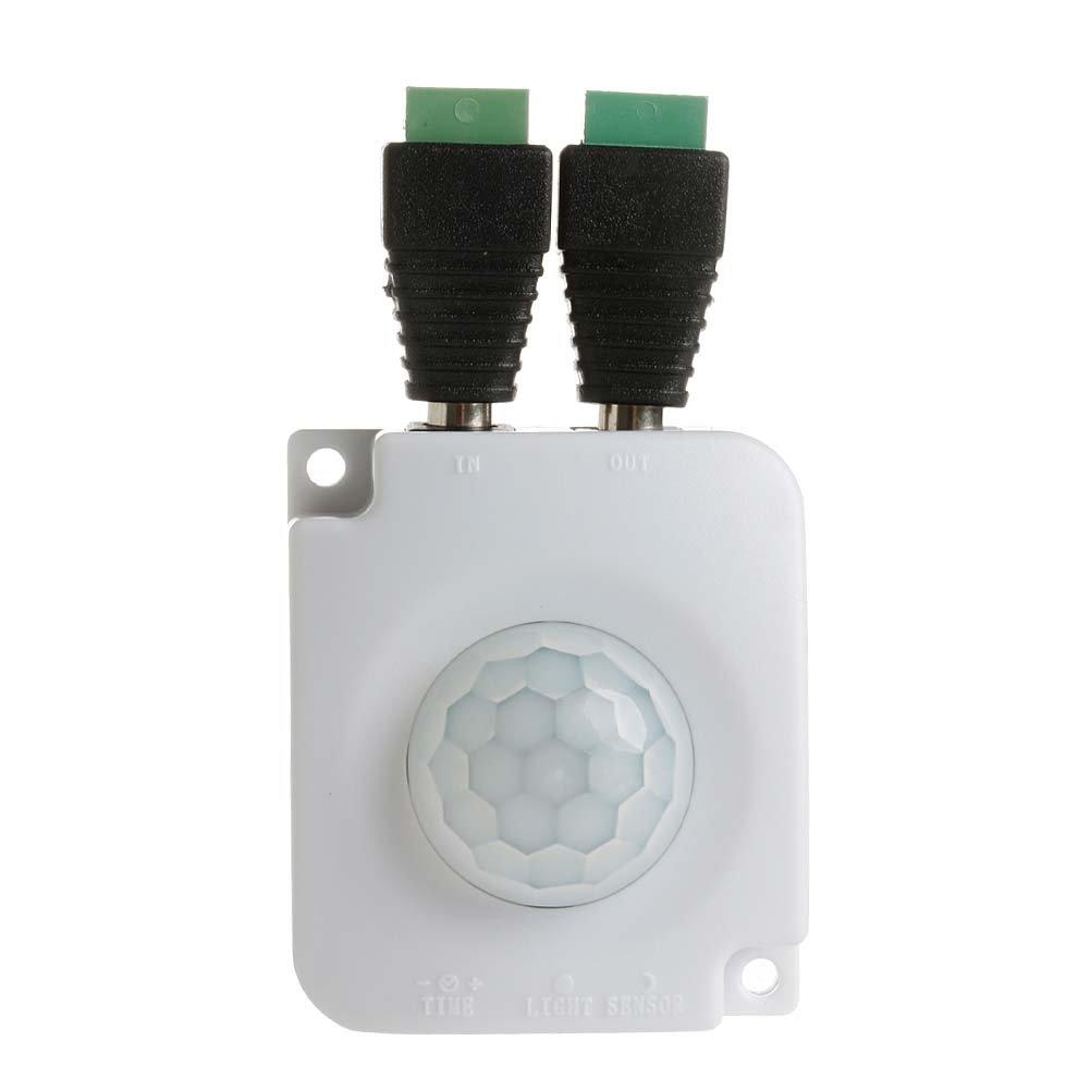 Automatic DC 12V-24V Infrared PIR Motion Sensor Switch For LED light Best Newly