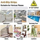 V-TOP 30 PCS Non Slip Bathtub Stickers, Safety Anti