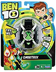 Ben 10 Basic Omnitrix Role Play Smart Watch Toy - 4 Years & Above