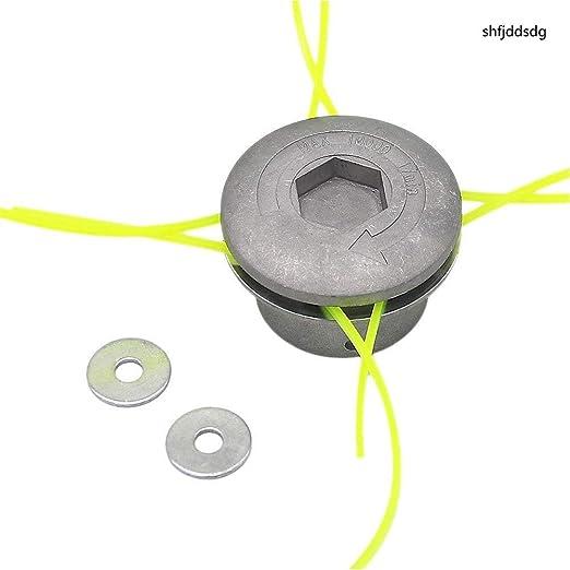 Shfjdsdg - Cabezal desbrozadora de Aluminio con Doble Cabezal de ...