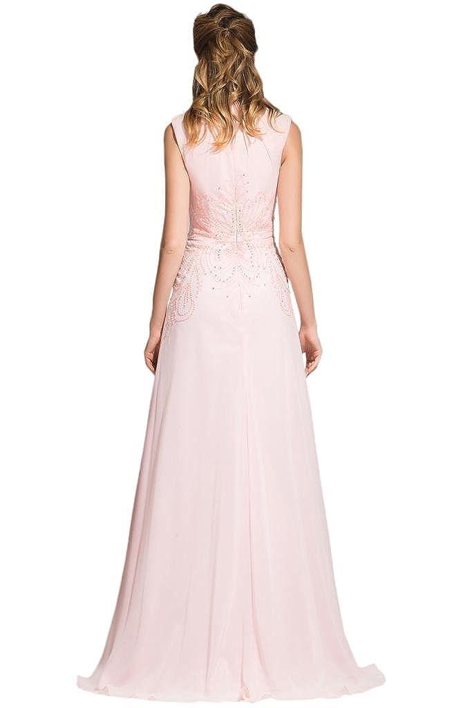 sunvary Vintage cuello alto de invitados para boda vestidos dama de honor vestidos de fiesta: Amazon.es: Ropa y accesorios