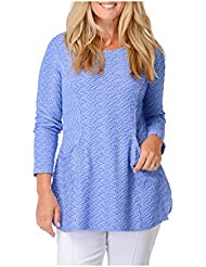 Habitat Clothes Pocket Tunic - Wave Knit