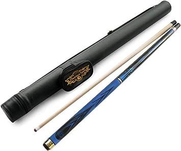Champion azul araña arce pool cue stick (18 – 510), color blanco o negro taco de billar caso, guante de billar, funda negra para taco de pool, Azul: Amazon.es: Deportes y aire libre