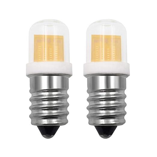 Bombilla LED pequeña E14 SES de 4 W, luz blanca cálida, reemplazo ...
