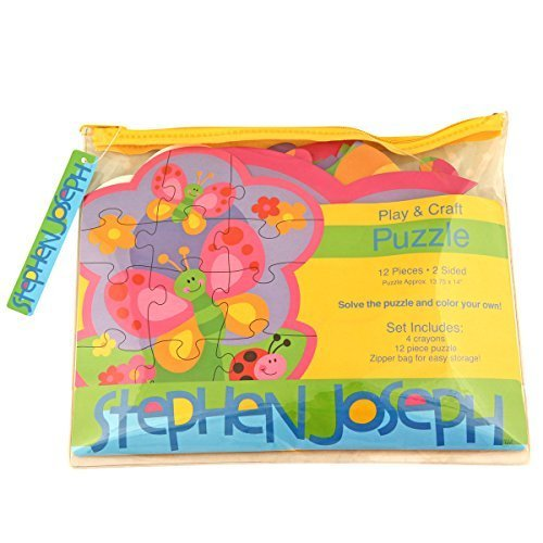 Stephen Joseph Garden Shaped Jigsaw Puzzle by Stephen Joseph