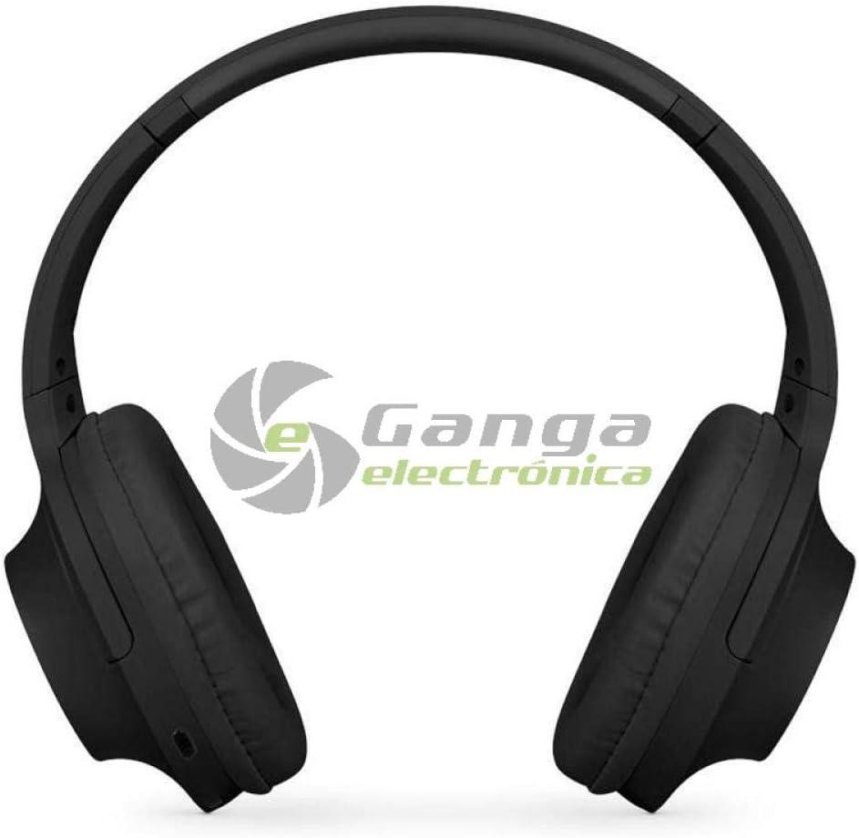 SPC Crow Auriculares de Diadema Bluetooth y micrófono en Color Negro