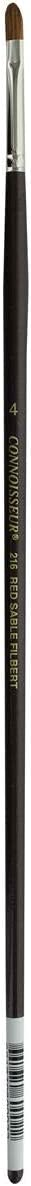 #0 Bright Connoisseur Pure Red Sable Brush