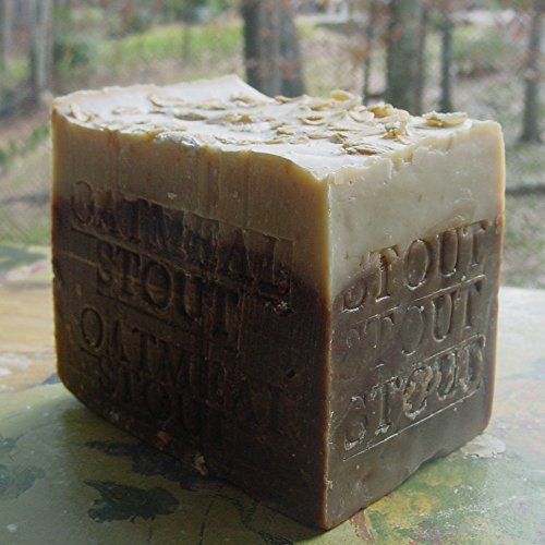 Aged Beer Soap Oatmeal and Stout with Made with Guinness Extra Stout 12 OZ Bar