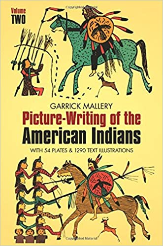 Picture Writing of the American Indians. Two Volume Set, Mallery, Garrick