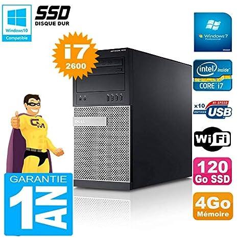 Dell PC Torre 7010 Core i7 - 2600 4 GB RAM Disco 120 GB SSD WiFi ...