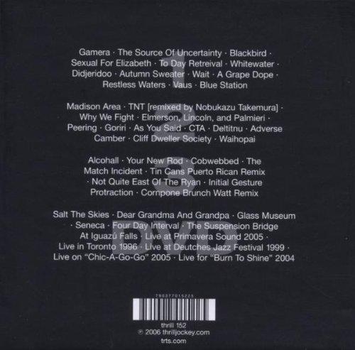 ec2515b6fa Tortoise - A Lazarus Taxon  3-CDs + 1 DVD  - Amazon.com Music