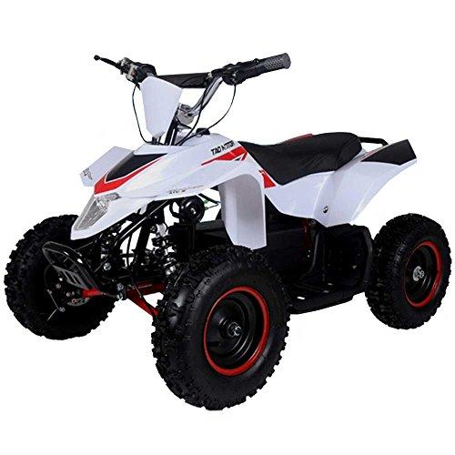 500 Watt Electric Four Wheeler ATV Kids Sport Quad for Children w/Reverse (Brushless Motor) - - Electric Motor Real