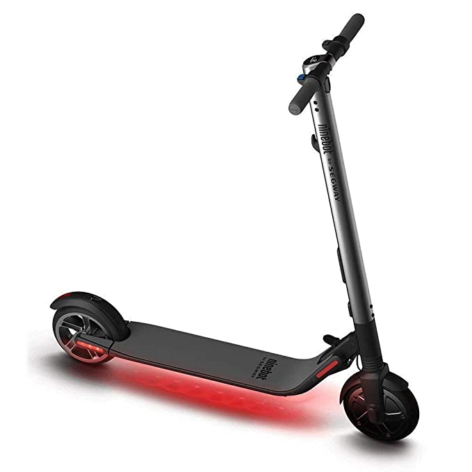 Ninebot Segway ES 2 Kick Scooter with High Performance, Up to 15 5 Mile  Range and 15 5 MPH Top Speed, Foldable and Portable Self-Balancing Electric