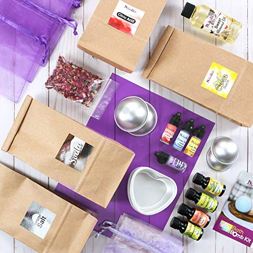 DIY Bath Bomb Making Kit Premium Bath Bomb Ingredients and Supplies
