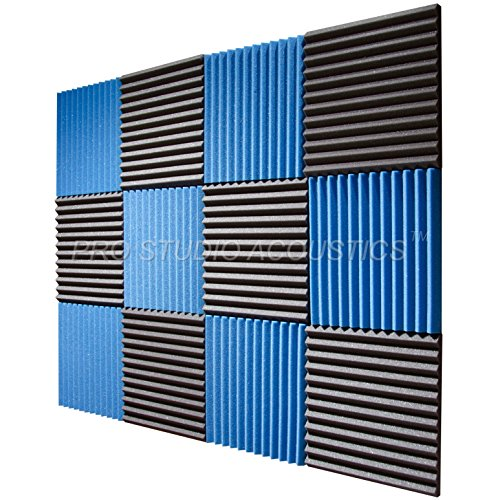 pro-studio-acoustics-12x12x1-acoustic-wedge-foam-absorption-soundproofing-tiles-12-pack-blue-charcoa