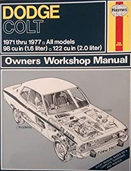 dodge colt owners manual