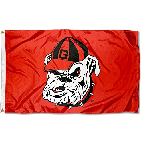 College Flags and Banners Co. Georgia UGA Bulldogs Dawg 3x5 Flag