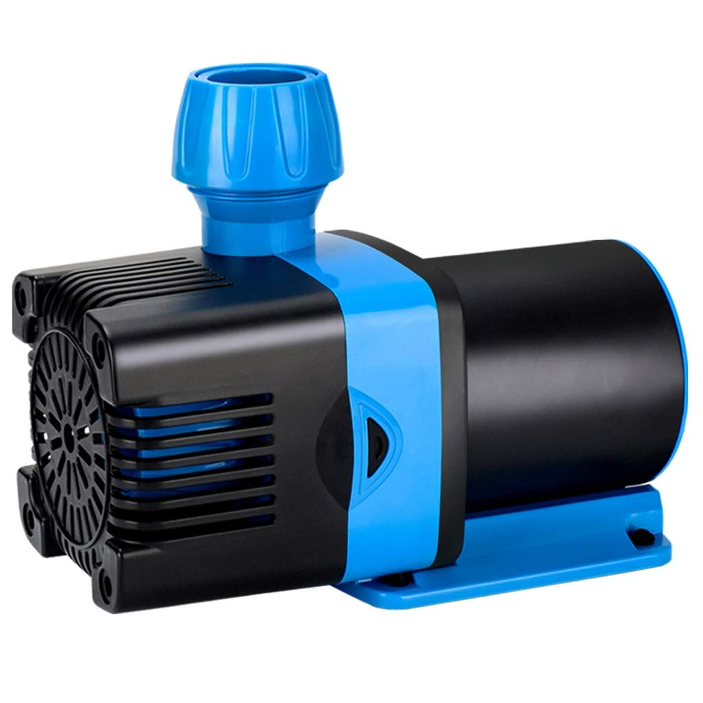 2000L H Aquarium Silent Small Submersible Pump Pump Circulating Pump Micro 24v Low Pressure Frequency Conversion Amphibious Pump (Size   2000L H)