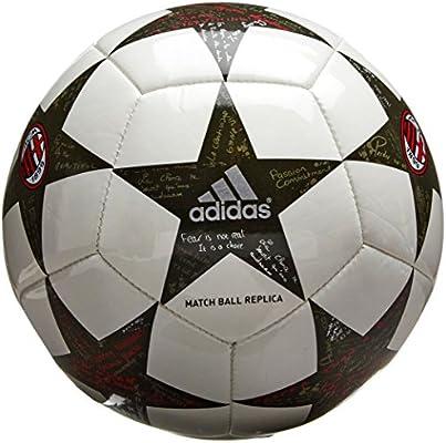 adidas Finale16AC Milan Min Balón de fútbol, Hombre, Blanco ...