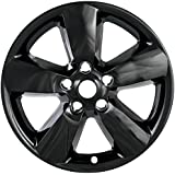 "2013 2014 2015 Dodge RAM 1500 20"" Black Wheel Skins / Hubcaps (Set of 4). FIT 20"" ALLOY Wheels ONLY!"