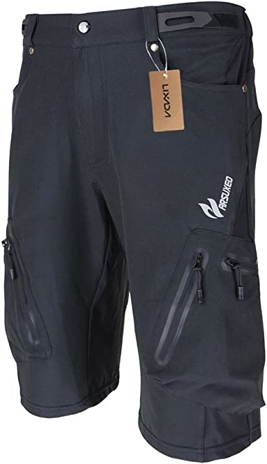 Lixada pantalones de ciclismo transpirable, de secado rápido [MTB] - pantalones exteriores, impermeables para senderismo escalada trekking para hombre ...