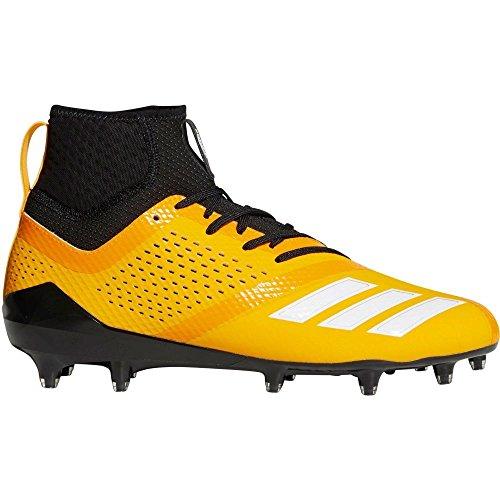 磁気海洋再発する(アディダス) adidas メンズ アメリカンフットボール シューズ?靴 adiZERO 5-Star 7.0 SK Mid Football Cleats [並行輸入品]
