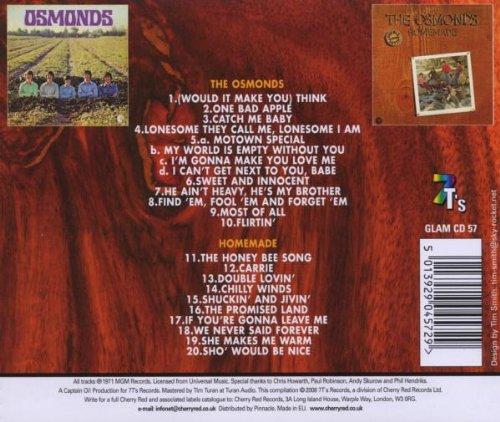 Osmonds / Homemade   /  Osmonds by Osmonds
