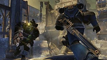 Amazon com: Warhammer 40,000: Space Marine: Xbox 360: Thq
