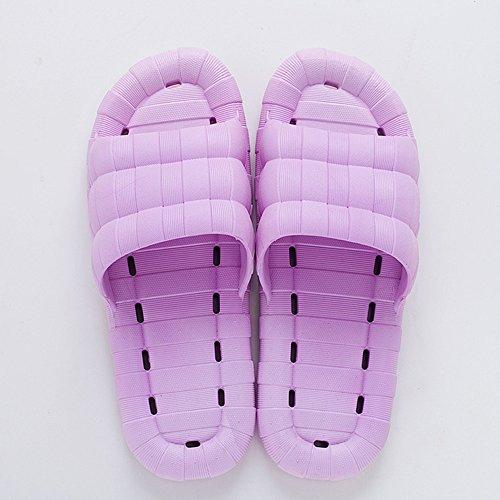 Zzhf Resbaladizas Del De Zapatillas Femenino Hogar El D Verano Interior Baño FFfH4