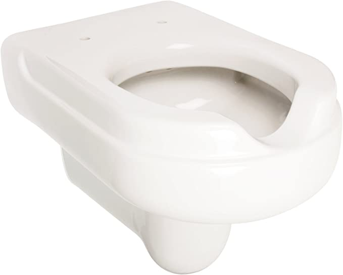 Vorwandelement WC Barrierefrei//Behindertengerecht inkl Klappgriffe weiß