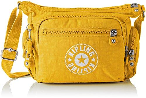 Kipling Women's Gabbie S Cross-Body Bag Yellow (Lively Yellow)