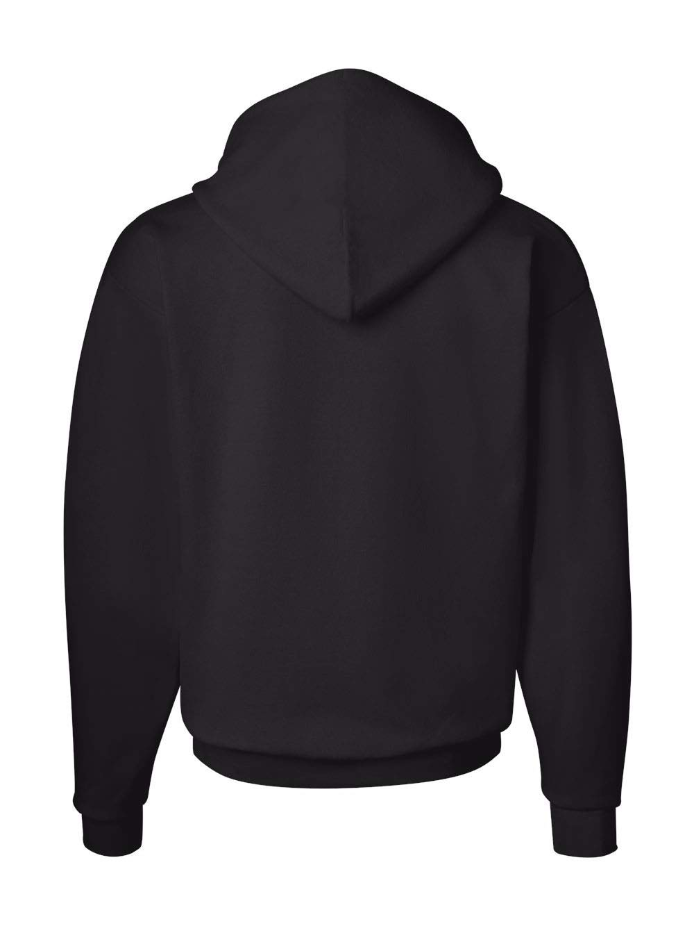 Hanes Men's Pullover EcoSmart Fleece Hoodie, Black, X-Large by Hanes (Image #4)
