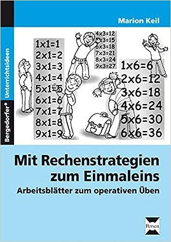 Mit Rechenstrategien zum Einmaleins: Arbeitsblätter zum operativen ...