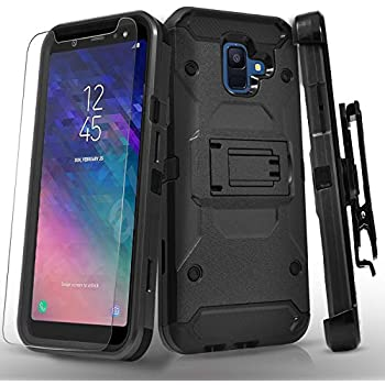 Amazon.com: ZIZO Bolt Series Samsung Galaxy A6 case Military ...