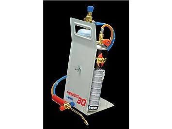 Oxyturbo, Turbo Set 30 - Kit de soldadura, bombona de oxígeno butano / propano: Amazon.es: Bricolaje y herramientas