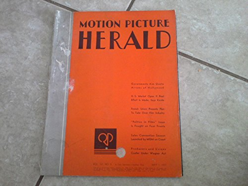 Motion Picture Herald Magazine May 1 1937 Fred and Ginger Heavy Duty Posters of Shall We Dance Inside