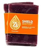 Shield Protective Blend (Orange & Clove) Hand Made Soap. 2.5oz Block - Zi Essentials (2 count)…