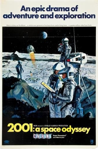 2001 a space odyssey Movie Poster #03 24x36in