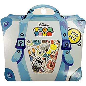 Amazon Disney Scrapbook Decoration Stickers 100pcs Blue Pack