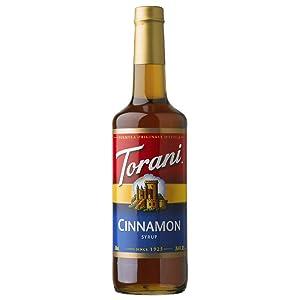 Torani Cinnamon Syrup, 750 mL