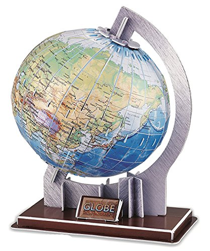 Globe Planet Jigsaw Puzzle Pieces