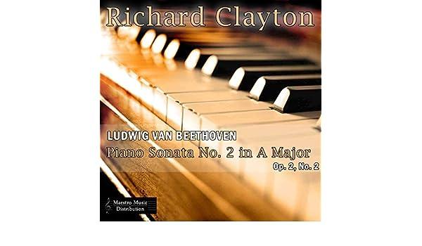 Ludwig van Beethoven: Piano Sonata No  2 in A Major, Op  2