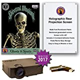 Spectral Illusions GHOSTS AND SPIRITS Compilation Video Projector Kit -1900 Lumen Projector - Includes Reaper Brothers Rear Projection Screen.