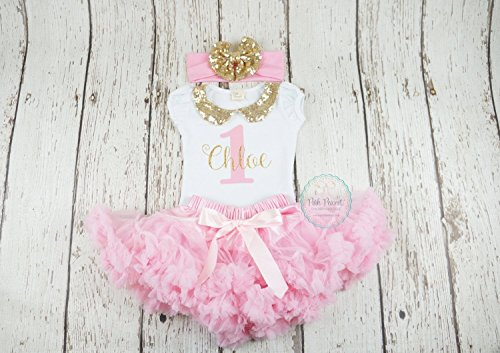Girls first birthday outfit in pink and - Atlanta Near Shopping