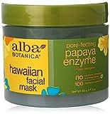 Alba Botanica Pore-Fecting Papaya Enzyme Hawaiian Facial Mask, 3 oz.