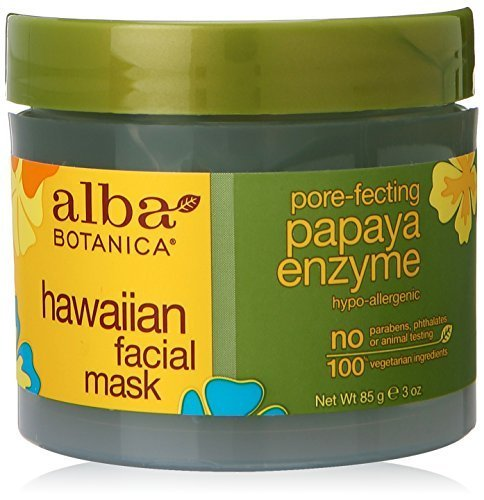 Alba Botanica Pore-Fecting Papaya Enzyme Hawaiian Facial Mask, 3 oz. ()