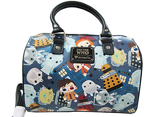 Loungefly x Doctor Who Chibi Duffle Bag (One Size, multi)